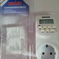 Jual Timer Digital Stop Kontak otomatis (Kaiser) Murah