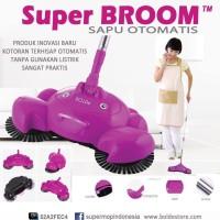 sapu otomatis tanpa baterai super broom