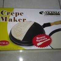 harga creper crepe crepes maker teflon wajan kwalik kewalik vicenza u/ dadar Tokopedia.com