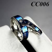 Cincin Kawin - Blue Ocean Ring
