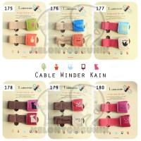 harga Cable Winder Kain/ Cord Holder/ Klip Kabel/ Pengikat Kabel Tokopedia.com