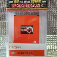 Battery  Xiaomi Redmi 2A 2080 mAh GARANSI 1 Tahun DOUBLE POWER