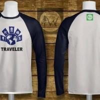 Kaos Lengan Panjang Traveler