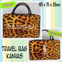 harga Tas Travel Bag Kanvas Leopard Yves Saint Laurent YSL Tokopedia.com