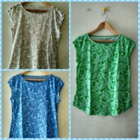 Blouse Batik Rayon Wanita