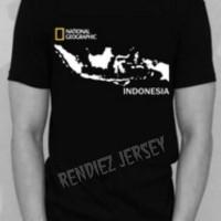 Tshirt/T shirt/kaos NATIONAL GEOGRAPHIC INDONESIA