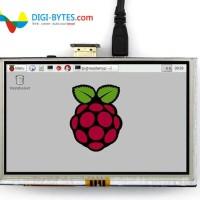 LCD raspberry pi 5 inch touchscreen HDMI