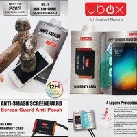 harga Anti Gores Ubox Anti-smash Screen Guard Xiaomi Mi4i / Mi4 I / Mi 4i Tokopedia.com