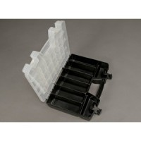 TOOLS BOX PLASTIC MULTI-PURPOSE ORGANIZER 2 TRAY 34 COMPARTMENT