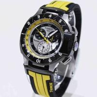 Tissot T-Race Silver Black Yellow Rubber