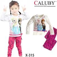 Piyama Anak Caluby X 315 (2-7th)