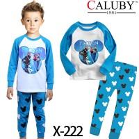 Piyama Anak Caluby X 222 (2-7th)