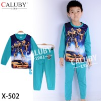 Piyama Anak Caluby X 502(2-7th)