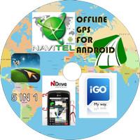 CD Aplikasi GPS Offline 5 in 1 untuk Android