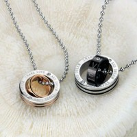 Kalung Couple - Round Necklace