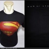 Kaos Superhero TopGear Superman Man Of Steel Logo Version