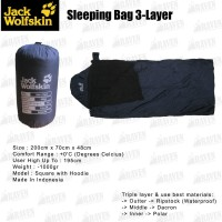 Sleeping Bag Jack Wolfskin (3-Layer)