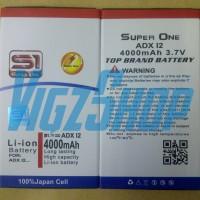 Baterai Battery Smartfren Andromax I2 4000mah Super One Double Power