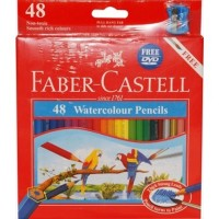 Pensil warna Faber Castell 48 warna watercolour (FC-82E5)