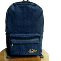 harga Lomberg Indigo Classic Backpack - Waterproof Dry Denim [ready Stock] Tokopedia.com