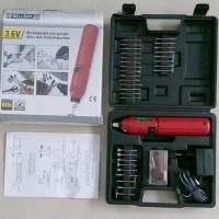 harga Rechargeable 3.6v Mini Drill / Bor / Grinder 60 Pcs Set Merk Sellery Tokopedia.com