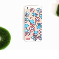 Casing HP Unik Averger Case Captain America Iphone 4/4s/5/5s/6 S4 S5