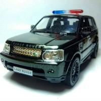 miniatur mobil polisi keren diecast range rover sport tokomoro