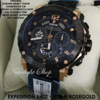 harga Jam Tangan Expedition 6402 Hitam & Hitam Rosegold Original Tokopedia.com