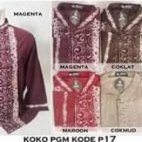 Baju Koko Dewasa PGM P-017 Bahan Katun