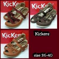 harga Sepatu Sendal Kickers Women Wanita Casual Santai Tokopedia.com