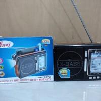 RADIO USB / SD CARD / TF (MP3) MUSIC PLAYER + LED LIGHT FEPE FP-1337U / 1338U