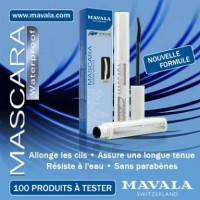 MAVALA MASCARA WATERPROOF-NOIR/BLACK 100% ORIGINAL
