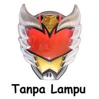Topeng Nyala Lampu LED Bima Satria Ksatria Kesatria Garuda Indonesia Super Hero Heroes Superhero Superheroes Mainan Anak Bandai