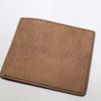 Dompet Pria Kulit Sapi 100% Asli Berkualitas warna coklat muda