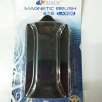 harga resun magnetic brush large / magnet pembersih kaca aquarium besar Tokopedia.com