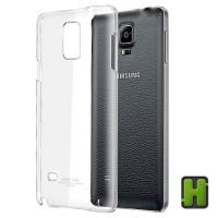 Imak Samsung Galaxy Note 4 N9100 Casing Crystal 2 Ultra Thin Hard Case