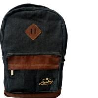 harga Lomberg Black Lash Backpack - Waterproof Dry Denim Suede [ready Stock] Tokopedia.com