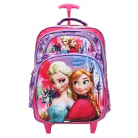harga Trolley Tas Anak Disney Frozen 3D Timbul 5 Kantung Besar Import Ungu Tokopedia.com