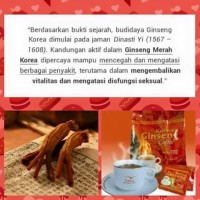 harga Korean Ginseng Coffee ( Kopi Yang Aman Untuk Lambung ) Tokopedia.com