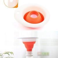 Jual Corong Karet Karet bisa dilipat lipat Portable Sabun Minyak Shampoo Murah