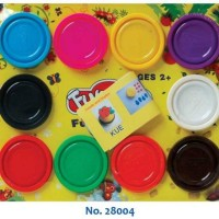 Lilin Mainan Fun Doh Refill 10 Warna Murah
