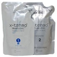 Obat Smoothing Rambut - Loreal X-Tenso Moisturist 1 Paket (2x400ml)