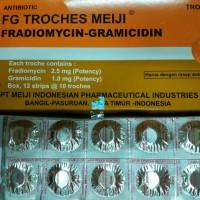 FG Troches Meiji tablet hisap untuk radang tenggokan