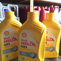 Oli Shell Helix Hx-5 15W-40 1liter