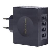 Jual Wellcomm 4 Port USB Charger 4,2A Murah