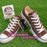 Sepatu Converse ALL STAR Low Brown