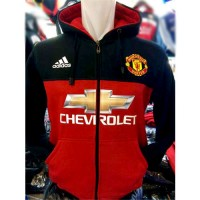 Hoodie Zipper New Manchester United Sideline