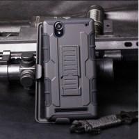 Sony xperia t2 ultra hardcase hybrid armor dual layer bumper case