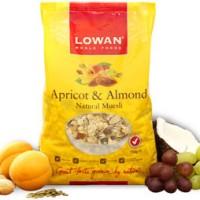Lowan Muesli Apricot Almond 500 gr