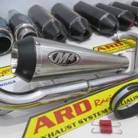 harga Knalpot M4 Titan For R15,r25,new Vixion ,byson,scorpio Z (pnp) Tokopedia.com